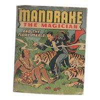 Mandrake the Magician and the Flame Pearls Whitman Big-Little Book