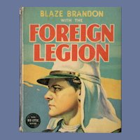Blaze Brandon with the Foreign Legion Whitman Big-Little Book