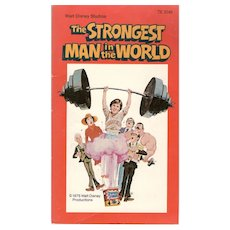 The Strongest Man in the World Disney Movie Paperback