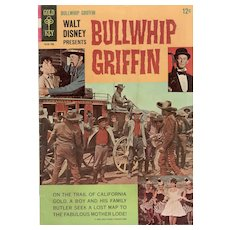 Bullwhip Griffin - 1967 Disney Gold Key Movie Comic