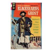 Blackbeard's Ghost Gold Key Disney Movie Comic