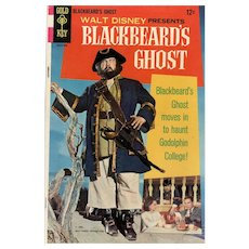 Blackbeard's Ghost Gold Key Disney Movie Comic