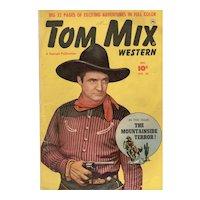 Tom Mix Western Comic No. 36 Dec. 1950