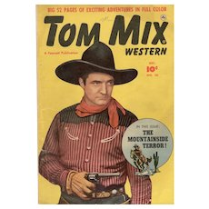 Tom Mix Western Comic No. 36 Dec. 1950
