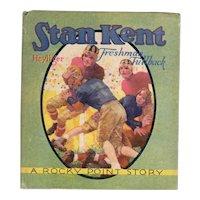 Stan Kent Freshman Fullback Saalfield Sports Books
