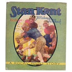 Stan Kent Freshman Fullback Saalfield Sports Books