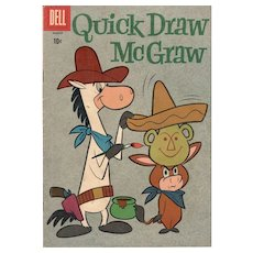Quick Draw McGraw #5 Dell Comic March 1961