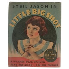 Little Big Shot Whitman Big-Little Book