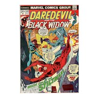 Daredevil and the Black Widow Marvel Comic #102 August 1973