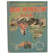 Don Winslow USN Whitman Big-Little Book