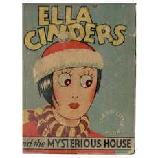 Ella Cinders and the Mysterious House Whitman Big-Little Book