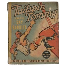 Tailspin Tommy and the Sky Bandits - Whitman Big Little Book