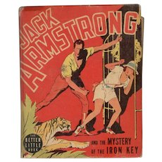 Jack Armstrong and the Mystery of the Iron Key - Whitman Big-Little Book