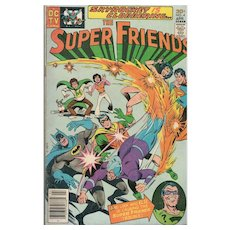 Super Friends Comic #4 April 1977