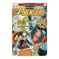 The Avengers Comic - No. 166, Dec. 1977