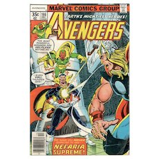 The Avengers Comic - No. 166, Dec. 1977