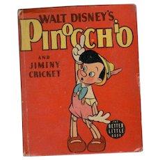 Walt Disney's Pinocchio - Whitman Big Little Book