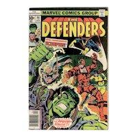 The Defenders - Marvel Comic No. 46 April 1977