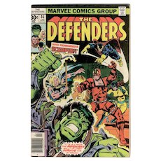 The Defenders - Marvel Comic No. 46 April 1977