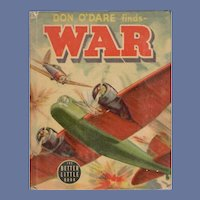 Don O'Dare Finds War Whitman Better-Little Book