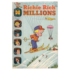 Richie Rich Millions - Harvey Comics No. 31 January 1970
