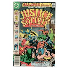 All Star Comics - Justice Society of America - DC Comic No. 69, Nov-Dec 1977