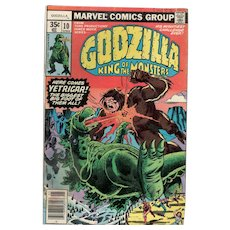 Godzilla King of the Monsters - Marvel comic No. 10, May 1978