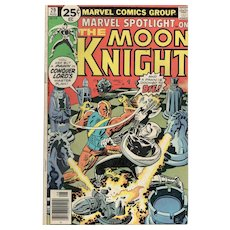 Marvel Spolight on the Moon Knight - No. 29, August 1976