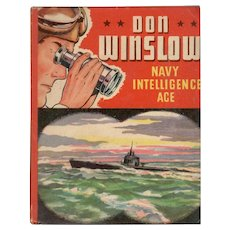 Don Winslow Navy Intelligence Ace Whitman Big-Little Book