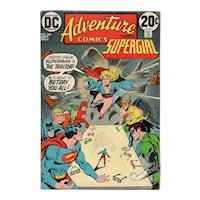 Adventure Comics starring Supergirl - DC comic no. 423, September 1972