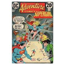 Adventure Comics starring Supergirl - DC comic no. 423, September 1972