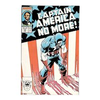 Captain America - Marvel comic No. 332, Aug. 1987