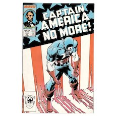 Captain America - Marvel comic No. 332, Aug. 1987