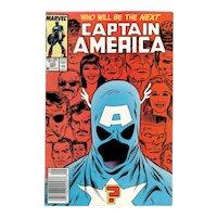Captain America - Marvel comic No. 333, Sept. 1987