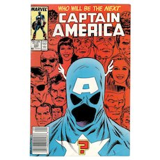 Captain America - Marvel comic No. 333, Sept. 1987