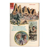 Maya - Dell Movie Comic, 1966