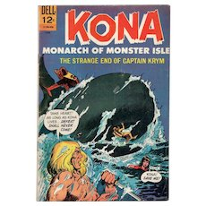 Kona Monarch of Monster Isle - Dell comic No. 18, June, 1966