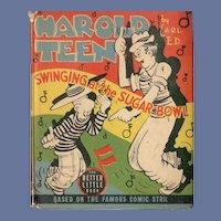 Harold Teen Swinging at the Sugar Bowl Whitman Better-Little Book