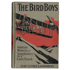 The Bird Boys Aeroplane Wonder, or Young Aviators on a Cattle Ranch
