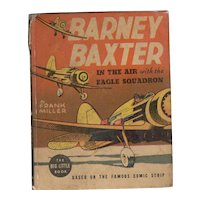 Barney Baxter in the Air with the Eagle Squadron Whitman Big-Little Book