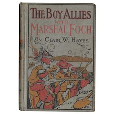 The Boy Allies with Marshal Foch