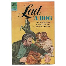 Lad - A Dog -- Dell Comic no. 2 July-Sept 1962