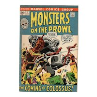 Monsters on the Prowl - Marvel comic No. 17 June 1972