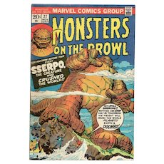 Monsters on the Prowl - Marvel comic No. 27 Nov. 1973