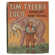 Tim Tyler's Luck Adventures in the I*ory Patrol - Whitman Big-Little Book