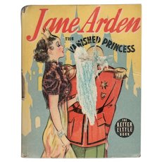 Jane Arden The Vanished Princess Whiman Big-Little Book