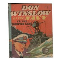 Don Winslow of the Navy Vs. the Scorpion Gang Whitman Big-Little Book