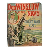 Don Winslow of the Navy and the Great War Plot Whitman Big-Little Book