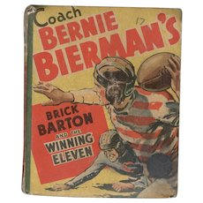 Brick Barton and the Winning Eleven - Whitman Big Little Book