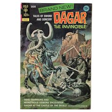 Dagar the Invincible - No. 1 Gold Key Comic, Oct. 1972